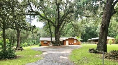 Ocala Single Family Home For Sale: 9780 SW 2nd Avenue