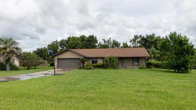 Ocala Single Family Home For Sale: 6153 SE 87th Street