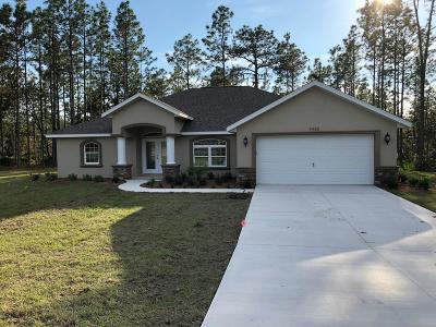 Citrus County Single Family Home For Sale: 4980 N Persimmon Drive