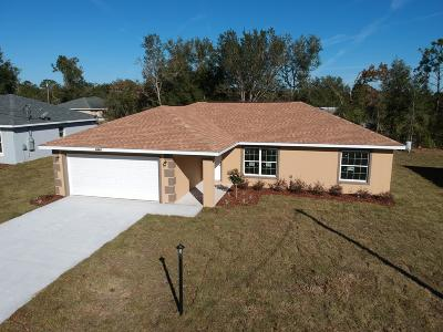 Summerfield Single Family Home For Sale: 9771 SE 157th Lane