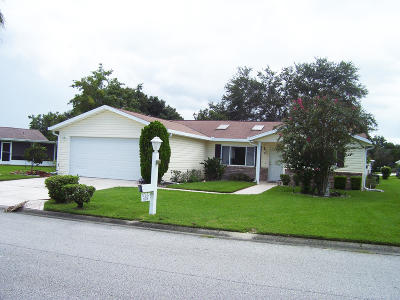 Summerfield FL Single Family Home For Sale: $162,000