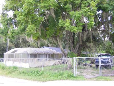 Belleview Other For Sale: 6026 SE Campbell Road