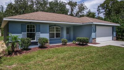 Citrus Springs Single Family Home For Sale: 2293 W Paragon Lane