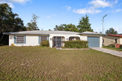 Marion Oaks North, Marion Oaks South, Marion Oaks Rnc Single Family Home For Sale: 15122 SW 43rd Terrace Road