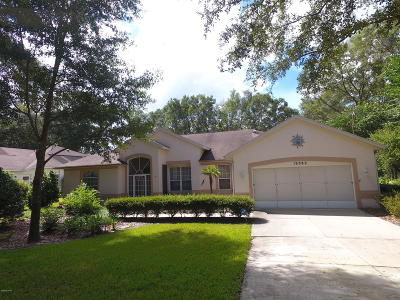 Dunnellon Single Family Home For Sale: 19382 SW 101 Pl. Rd. Road