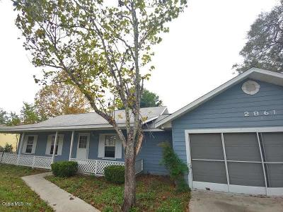 Ocala Single Family Home For Sale: 2861 NW 3rd Terrace