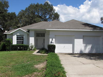 Dunnellon Single Family Home For Sale: 19651 SW 88th Loop