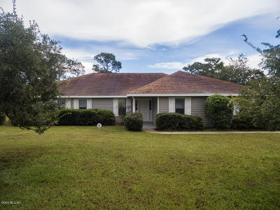 Silver Springs Single Family Home For Sale: 5091 NE 61st Avenue Road Road