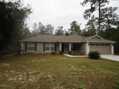 Silver Springs Single Family Home For Sale: 13024 NE 5th Place