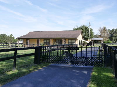 Marion County Farm For Sale: 9777 NW 83rd Place