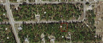 Citrus County Residential Lots & Land For Sale: 3872 W Firewood Loop