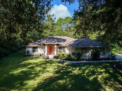 Dunnellon Single Family Home For Sale: 9350 SW 203rd Avenue