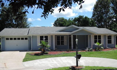 Ocala Single Family Home For Sale: 8669 SW 115th Street
