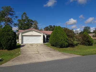 Ocala Single Family Home For Sale: 13100 SW 29th Avenue Road