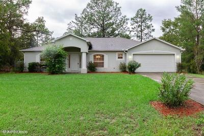 Ocala Single Family Home For Sale: 336 Locust Pass