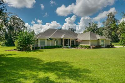 Ocala Single Family Home For Sale: 12155 NE 8th Avenue