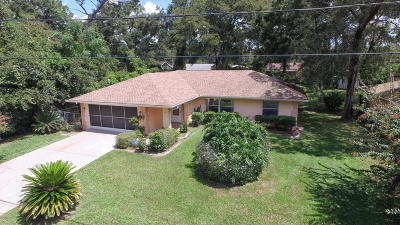 Belleview Single Family Home For Sale: 12145 SE 72nd Terrace Road