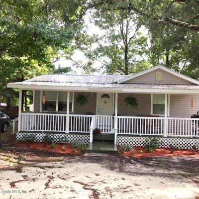 Dunnellon Single Family Home For Sale: 19592 SW Marine Boulevard