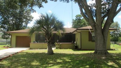 Marion Oaks North, Marion Oaks Rnc, Marion Oaks South Single Family Home For Sale: 15085 SW 35th Circle
