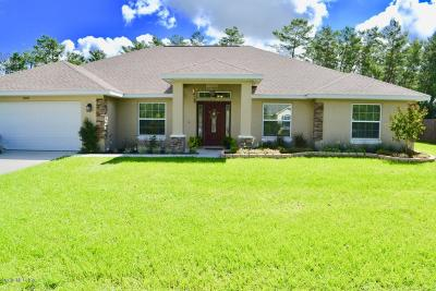 Ocala Single Family Home For Sale: 10525 SW 45th Court