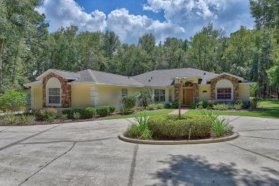 Ocala Single Family Home For Sale: 7770 NW 21st Street