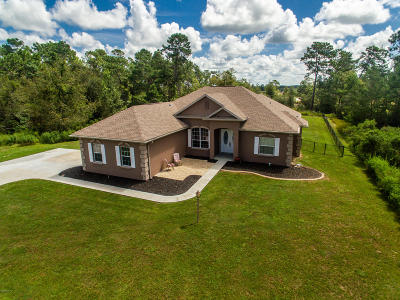 Ocala Single Family Home For Sale: 10281 SW 51st Terrace