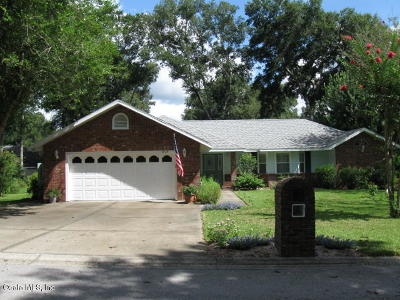 Ocala Single Family Home For Sale: 5019 NE 8th Street