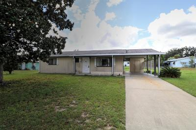 Ocala Single Family Home For Sale: 9554 SW 101st Place