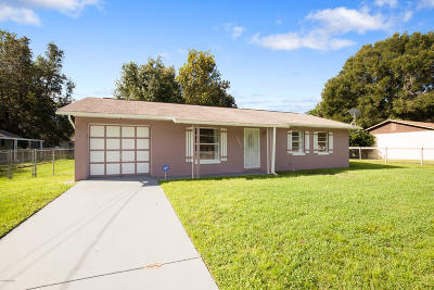 Ocala Single Family Home For Sale: 2140 NE 40th Street