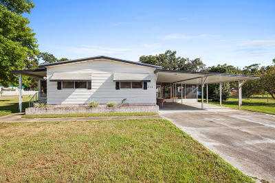 Ocala Mobile/Manufactured For Sale: 3114 SW 91st Place