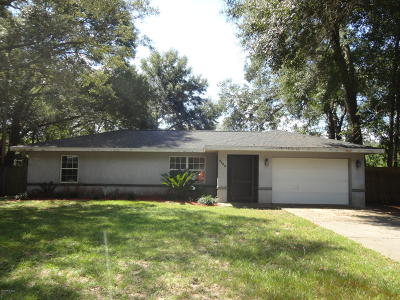 Single Family Home For Sale: 4580 SE 58 Place