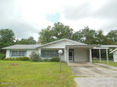 Ocala Single Family Home For Sale: 5 Spring Loop