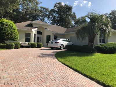 Ocala Single Family Home For Sale: 7758 SW 114th Loop