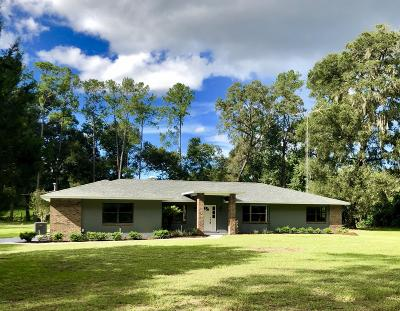 Ocala Single Family Home For Sale: 3343 SE 62nd Street