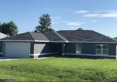 Ocala Single Family Home For Sale: 6910 Hemlock Road