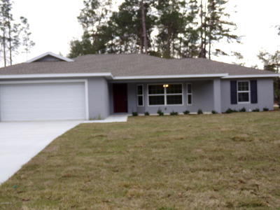 Ocala Single Family Home For Sale: 12777 SW 58th Circle