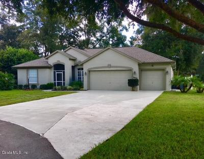 Dunnellon Single Family Home For Sale: 9037 SW 194th Court
