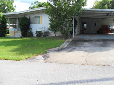 Ocala Mobile/Manufactured For Sale: 6410 NE 2nd Street
