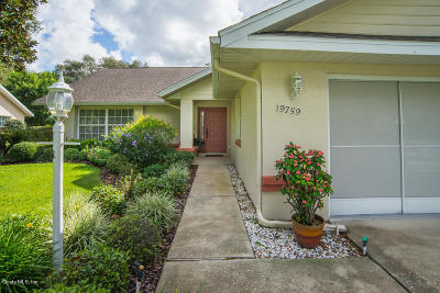 Dunnellon Single Family Home For Sale: 19759 SW 93rd Lane Road