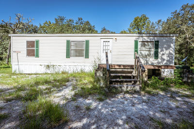 Dunnellon Mobile/Manufactured For Sale: 15600 SW 75th Avenue