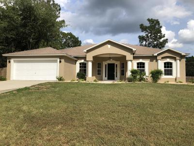 Ocala Single Family Home For Sale: 8145 SW 131st Pl Place