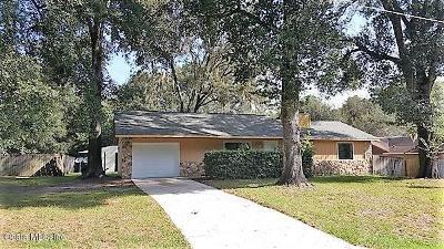 Ocala FL Single Family Home For Sale: $135,900
