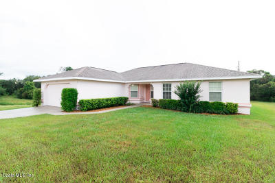 Marion Oaks North, Marion Oaks Rnc, Marion Oaks South Single Family Home For Sale: 14210 SW 28th Court