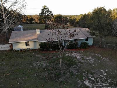 Ocklawaha Single Family Home For Sale: 15321 SE 99th Place