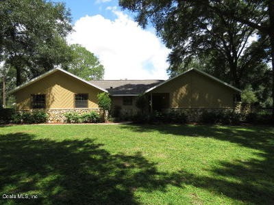 Ocala Single Family Home For Sale: 5055 SE 17th Street