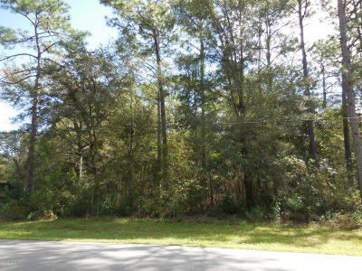 Dunnellon Residential Lots & Land For Sale: SW 183rd Terrace