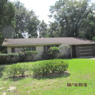 Ocala Single Family Home For Sale: 3 Lake Court