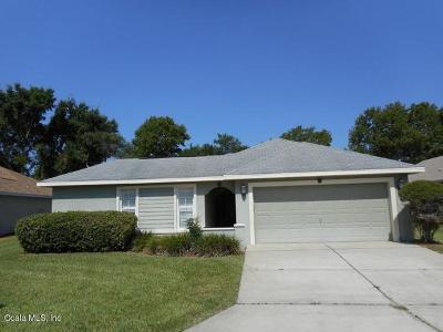 Ocala Single Family Home For Sale: 7169 SW 113th Loop