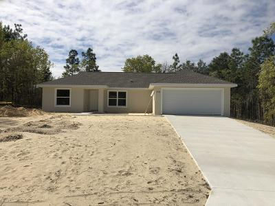 Ocala Single Family Home For Sale: 8380 SW 138th Place