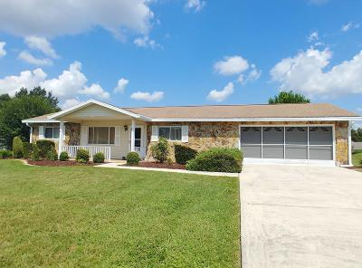 Ocala Single Family Home For Sale: 8563 SW 107th Place